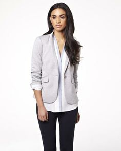 Fitted ponte blazer RW&CO. Spring 2014 Collection