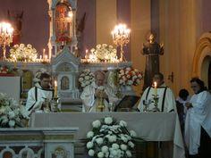 En la ceremonia fueron ordenados diáconos Marcelino Aquino, oriundo de Paraguay, y Sebastián Sotelo, proveniente de la vecina provincia de J...
