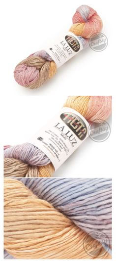 Exclusive Craftsy Color! Get 32% off Fiesta La Luz Yarn in Denver Dusk. 100% Mulberry Silk yarn in #3 DK weight. To take a closer look, click: http://www.craftsy.com/ext/20120823_Pin4