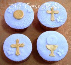bella cupcakes   Cupcakes para Primera Comunión