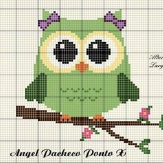 1 million+ Stunning Free Images to Use Anywhere Cross Stitch Owl, Cross Stitch Animals, Modern Cross Stitch, Cross Stitch Charts, Cross Stitching, Cross Stitch Embroidery, Embroidery Patterns, Cross Stitch Patterns, Baby Pullover