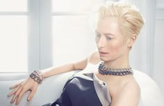 Tilda Swinton for Pomellato by Solve Sundsbo