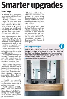 Featured in Australian publication - Sydney North Shore Times Meet Matte, Dream Bathrooms, North Shore, Bathroom Renovations, Bathroom Accessories, Sydney, Times, Design, Bathroom Fixtures