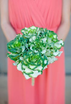 Kale bouquet « Bollea – Floral Design Gallery