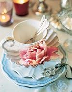 my favourite ,eggshell blue and rose