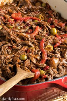 Best Mexican Food Recipes - Ropa Vieja – Homemade Authentic Mexican Version - Mexican Beef Soup - Authentic Mexican Foods and Recipe Ideas for Casseroles, Quesadillas, Tacos, Appetizers, Tamale Authentic Mexican Recipes, Best Mexican Recipes, Top Recipes, Cooking Recipes, Authentic Food, Mexican Beef Soup, Mexican Dishes, Spanish Dishes, Beef Dishes