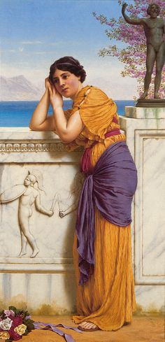 John William Godward: 'Rich Gifts Wax Poor When Lovers Prove Unkind'