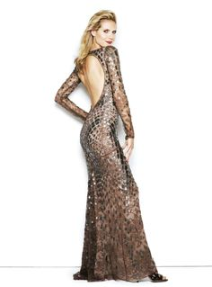 The stunning Heidi Klum shines in #RobertoCavalli for S Moda Spain, October 2014!