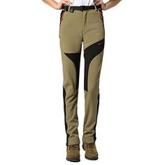 3a28ba55b64990 Introducing Modern Fantasy Womens Waterproof Elastic Outdoor Fleece Warm Sport  Pants M Khaki. Great product and follow us for more updates!