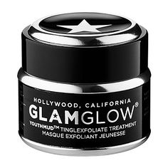 YOUTHMUD™ TINGLEXFOLIATE TREATMENT - GLAMGLOW | Sephora. I am sold on this. Must buy larger jar!