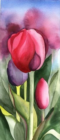 The Best Red Tulip - by Amy Hautman