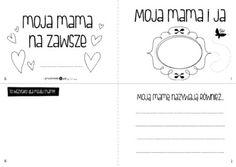 Książeczka dla mamy - Printoteka.pl Word Search, Words, Horses