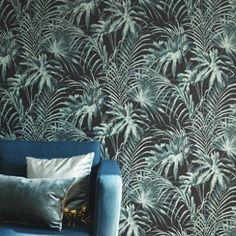 intiss honolulu coloris noir or papier peint 4murs na chambre gold wallpaper wallpaper. Black Bedroom Furniture Sets. Home Design Ideas