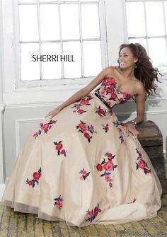 Sherri Hill 21340 prom dress