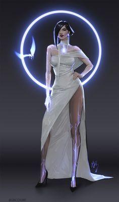 ArtStation – Ariel, Grace Zhu – Cyberpunk – – Pin to pin Cyberpunk Kunst, Cyberpunk Girl, Cyberpunk Fashion, Cyberpunk Tattoo, Cyberpunk 2077, Female Character Design, Character Design Inspiration, Character Art, Akali League Of Legends