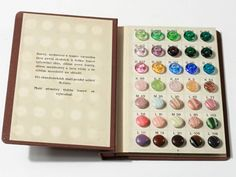 Vintage Rare Czech Bohemian original salesman sample booklet set of 70 13mm glass buttons. Ludvik Breit, Lucany. E712 by HofB on Etsy https://www.etsy.com/listing/188673665/vintage-rare-czech-bohemian-original
