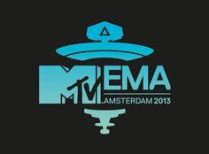 MTV EMA 2013 BRANDING - by Norwich based graphic design studio http://www.creativegiant.co.uk