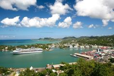 St. Lucia Cruise Port | Caribbean Island