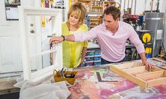 Home & Family - Tips & Products - Mark's DIY Picture Frame Makeup Vanity | Hallmark Channel