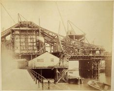 Never before seen photographs of the construction of Tower Bridge being constructed have been unveiled after a stash of hundred-year-old photos were found in a skip. London Pictures, London Photos, Old Pictures, Old Photos, Vintage Photos, Uk History, London History, History Of Photography, London Photography