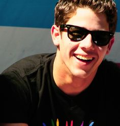 Nick Jonas..... I've always had a crush on him... And I always will.  Just look at that smile :)