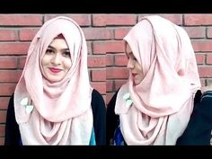 This is Muna,welcome back to my channel,Today I am coming with a new Video.In this tutorial I'm going to show you too much easy and no layer hijab style for . Abaya Fashion, Muslim Fashion, Korean Fashion, Fashion Dresses, Hijab Style Tutorial, Turban Tutorial, Hijab Mode, How To Wear Hijab, Simple Hijab