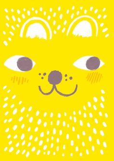Emmi Jormalainen StudioPanama illustration yellow animal Yellow Animals, Printed Matter, Helsinki, Book Publishing, Blythe Dolls, Finland, Tweety, Panama, Storytelling