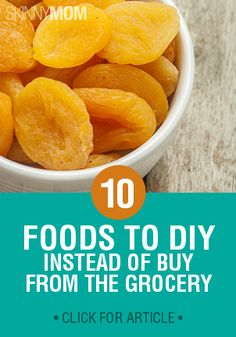 Homemade versions of your favorite convenience foods are better for you and they even taste better. Check out these healthy alternatives!