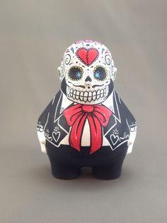 Dia Del Los Muertos Mariachi Art Work, Skull, Studio, Creative, Artist, Fictional Characters, Death, Artwork, Work Of Art