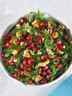 Cevizli maydanoz salatası Tarifi - Türk Mutfağı Yemekleri - Yemek Tarifleri