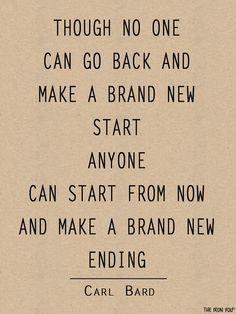 Start to make a BRAND NEW ending!