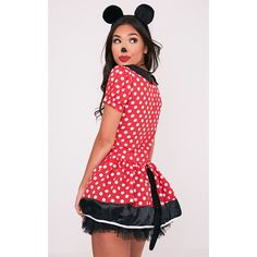 Mouse Three Piece Black Fancy Dress Costume Accessory ($11) ❤ liked on Polyvore featuring costumes, mouse costume, fancy costumes, fancy halloween costumes and mouse halloween costume