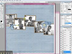 Tutorial:  How to Use a Digital Scrapbooking Quick Page by ChrissyWDigital @ www.christyw.com