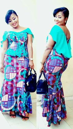 Cute Agbada Styles for Men and Women African Dresses For Women, African Attire, African Wear, African Fashion Dresses, African Women, Fashion Outfits, African Outfits, African Print Fashion, Africa Fashion