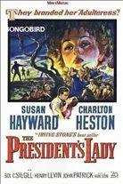 The President's Lady (1953). Starring: Charlton Heston, Susan Hayward and John McIntire