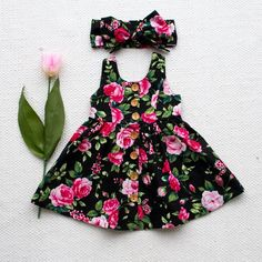 Baby Girl Floral Dress Kid Party Wedding Pageant Formal Dresses Sundress Clothes | eBay