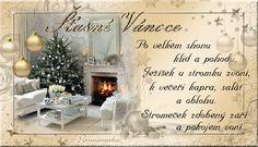 Vánoční přání   Jany svět Foto Gif, Happy Birthday Wallpaper, Vintage Christmas Images, Champagne, Merry Christmas, Blog, Home Decor, Advent, Google