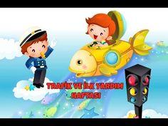 Okul Bahçesi: Trafik ve İlk Yardım Haftası (mayıs ayının ilk haftası) Boyama Baby Songs, Kids Songs, Baby Kids, Preschool, Family Guy, Youtube, Fictional Characters, Nursery Songs, Kid Garden