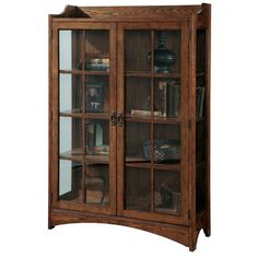 Found it at Wayfair - Bookcase Curio Cabinet