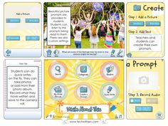 """If you haven't heard of """"Be Appy"""" Monday you are missing out! Learn great ideas from teachers across the globe how they are using apps in interesting and creative ways in the classroom. Today's post is about Write About This."""
