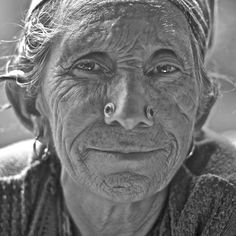 """Beauty lies in the eyes of the beholder""  A portrait from chalal, himachal pradesh, India"