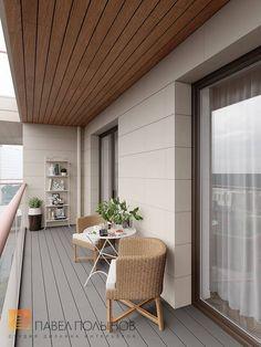 House Balcony Design, Small Balcony Design, Modern Balcony, Small Balcony Decor, Apartment Balcony Garden, Apartment Balcony Decorating, Apartment Interior Design, Tree House Interior, Interior Stairs