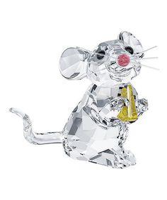 Swarovski® Crystal Mouse Figurine