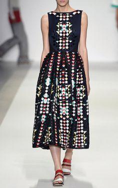 Holly Fulton Spring/Summer 2015 Trunkshow Look 11 on Moda Operandi