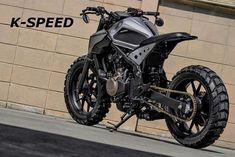 Honda CB500T Street Tracker by K-SPEED #motorcycles #streettracker #motos | caferacerpasion.com