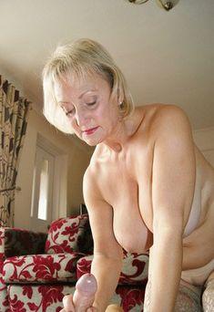 Nice granny handjob