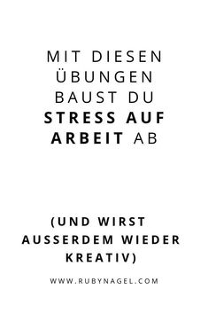 Hektische Termine und Stress auf Arbeit kenne ich nur zu gut aus meiner Angestelltenzeit. Deshalb habe ich mir mit der Zeit diese 5 Strategien überlegt, um auch abends noch gut Kraft genug zu haben, um etwas schönes mit Freunden zu unternehmen: 5 mini Entspannungsübungen für Zwischendurch, die DEN Unterschied machen! Klick auf das Bild und probier's mal aus! . #rubynagel #entspannen #entspannungsübungenfürsbüro #stressaufarbeit #entspannungsübungen Sporty Hairstyles, Mental Training, Motivation, Mini, Wellness, Dealing With Stress, Good Habits, How To Relieve Stress, Life Tips