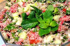 Desafios Gastronômicos: Tabule (Salada árabe de trigo)
