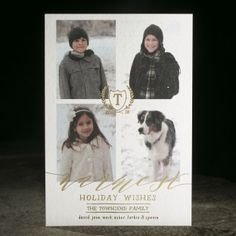Townsend photo card. Customize yours with Paper Passionista.