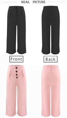 jiedream Women 's Palazzo Flared Pants Wide Leg Pants High Waist Loose Culottes Long Trousers Long Pants, Wide Leg Pants, New Pant, Summer Pants, Cute Costumes, Flare Pants, Trousers Women, Pajama Pants, Palazzo